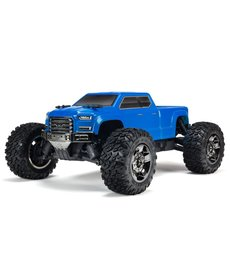 Arrma 1/10 BIG ROCK CREW CAB 3S BLX 4WD Monster Truck sin escobillas con Spektrum RTR, azul