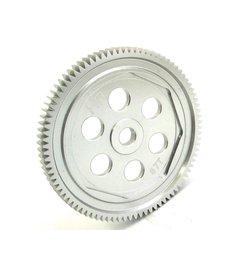 Hot Racing Engranaje de dientes rectos de aluminio anodizado duro (87t 48p): ASC