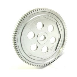 Hot Racing Hard Anodized Aluminum Spur Gear (87t 48p): ASC