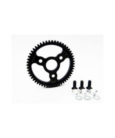 Hot Racing Silver 54T 32P 0.8M Steel Spur Gear For Traxxas