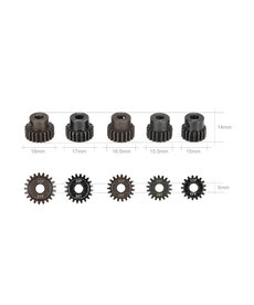 Goolrc GOOLRC 5Pcs 32P 5mm 17T 18T 19T 20T 21T Motor Pinion Gear Combo Set for 1/10 RC Car