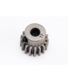 Traxxas 5643 Engranaje, piñón de 17 T (0.8 pasos métricos, compatible con 32 pasos) (se adapta al eje de 5 mm) / tornillo de fijación