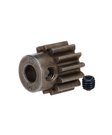 Traxxas Gear, 13-T pinion (1.0 metric pitch) (fits 5mm shaft)/ set screw (compatible with steel spur gears)