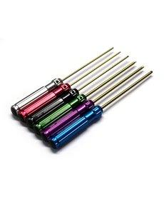 INT Hex Wrench Set, Ti-Nitride (6) Screw Diver Kit