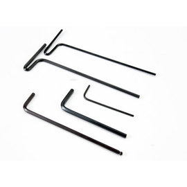Traxxas 5476X Hex wrenches; 1.5mm, 2mm, 2.5mm, 3mm, 2.5mm ball
