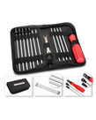 Traxxas 3415 Tool set with pouch (includes 1.5mm, 2.0mm, 2.5mm, 3.0mm, 3.5mm, 4mm drivers/ 4mm, 5mm, 5.5mm, 7mm and 8mm nut drivers/ 2mm, 4mm, and 5mm slotted / #00 Phillips, #0 Phillips, and #1 Phillips / 4mm and 8mm wrench/ driver handle 3415