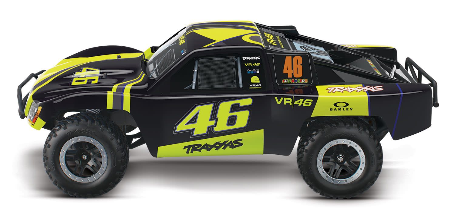 Traxxas - 58034-1 - Slash: 1/10-Scale 2WD Short Course Racing Truck   Ready-To-Race® with TQ 2 4GHz radio system and XL-5 ESC (fwd/rev)   Includes:
