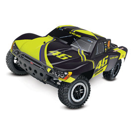 Traxxas 58034-1 Slash: 1/10Scale 2WD Short Course Racing Truck. Ready-To-Race® with TQ 2.4GHz radio system and XL-5 ESC.Includes:7-Cell NiMH 3000mAh Traxxas® battery