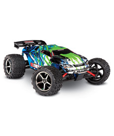 Traxxas 71054-1-GRN E-Revo®: 1/16 Scale 4WD Electric Racing Monster Truck. Ready-To-Race® with TQ 2.4GHz radio system, Titan® 550 motor and XL-2.5 ESC. Includes: 6-Cell NiMH 1200mAh Traxxas® battery