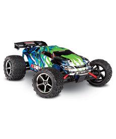 Traxxas 71054-1-GRN E-Revo® Camión monstruo eléctrico de carreras 4WD a escala 1/16. Ready-To-Race® con sistema de radio TQ 2.4GHz, motor Titan® 550 y XL-2.5 ESC. Incluye: batería Traxxas® de 6 celdas NiMH 1200mAh