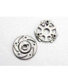 Traxxas 5556 Placa de presión y cubo de zapatilla (aleación de aluminio)