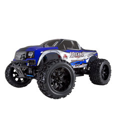 Redcat Racing Volcano 4x4 EPX PRO 1/10 Scale Brushless Truck Blue Black RTR RC Monster Truck