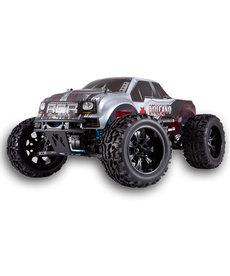 Redcat Racing RTR Volcano EPX PRO 1/10 Escala Eléctrica Brushless Monster Truck Rojo Negro Plata