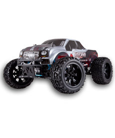 Redcat Racing RTR Volcano EPX PRO 1/10 Scale Electric Brushless Monster Truck Red Black Silver