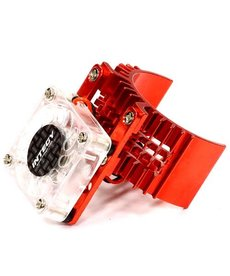 INT Motor Heatsink with Cooling Fan, Red:SLH, ST, RU