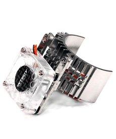INT Motor Heatsink/Fan, Slvr: ST, RU, BA, SLH