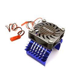 INT Super Motor Heatsink / Fan, 750, Blue: Summit