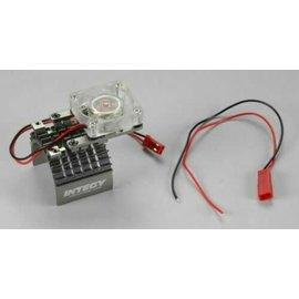 INT Motor Heatsink and Cooling Fan, Gun