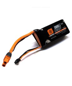 Spektrum 1300mah 3S 11.1V Smart LiPo Battery 30C; IC3