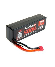 Dynamite Reaction 2.0 11.1V 5000mAh 30C 3S Hardcase LiPo Battery, Deans