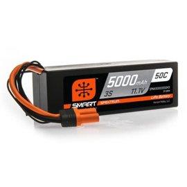 Spektrum 5000mAh 3S 11.1V 50C Smart LiPo Hardcase; IC3