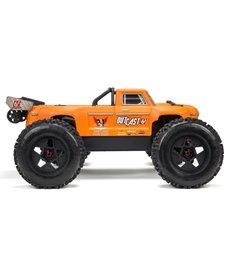 Arrma 1/8 Outcast 6S 4WD BLX Stunt Truck Matte Orange