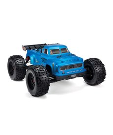 Arrma 1/8 NOTORIOUS 6S BLX 4WD Brushless Classic Stunt Truck with Spektrum RTR, Blue