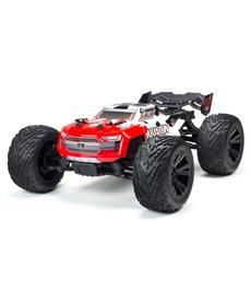 Arrma 1/10 KRATON 4x4 4S BLX Brushless Monster Truck with Spektrum RTR Red ARA102690