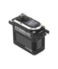 Protek RC ProTek RC 170SBL Black Label Servo sin escobillas de alta velocidad (alto voltaje)