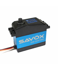Savox WATERPROOF 5TH SCALE DIGITAL SERVO .17/555 HIGH VOLTAGE  SAVSW0241MG