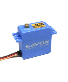 Savox SAVSW0231MG WATERPROOF STD DIGITAL SERVO .15/208