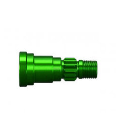 Traxxas Traxxas Stub axle, aluminum (green-anodized) (1) (use only with #7750X driveshaft)