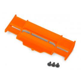 Traxxas 6721T - Wing, Rustler® 4X4 (orange)/ 3x8 FCS (3)