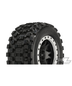 Proline Racing Badlands MX43 Pro-Loc Mnt Impulse Blk,Grey(2):XMX