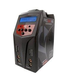 VNR Pro 160W Duo AC / DC LiPO y NiMH Cargador de batería