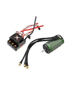 Castle Creations Castle Creations BL 1/8 Monster X ESC con motor con sensor de 2200KV010014503
