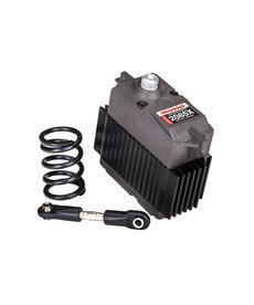 Traxxas 2085x Servo, digital de alto torque, engranaje de metal (rodamiento de bolas), impermeable / servo protector resorte / enlace de dirección