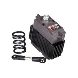 Traxxas 2085x Servo, digital high-torque, metal gear (ball bearing), waterproof/ servo saver spring/ steering link