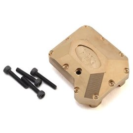 Hot Racing Hot Racing Traxxas TRX-4 Brass Heavy Metal Axle Diff Cover
