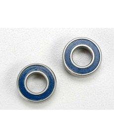 Traxxas 5117 Ball bearings, blue rubber sealed (6x12x4mm) (2)