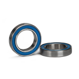 Traxxas Ball bearing, blue rubber sealed (15x24x5mm) (2)