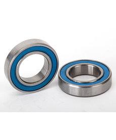 Traxxas 5101 Ball bearings, blue rubber sealed (12x21x5mm) (2)