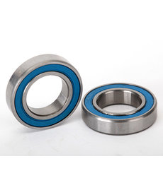 Traxxas Ball bearings, blue rubber sealed (12x21x5mm) (2)