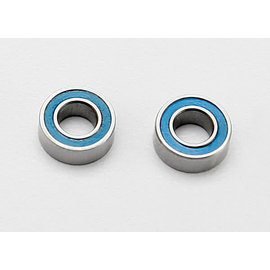 Traxxas 7019 Ball bearings, blue rubber sealed (4x8x3mm) (2)