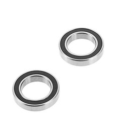 Traxxas Ball bearing, black rubber sealed (15x24x5mm) (2)