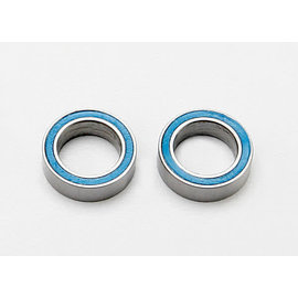 Traxxas Ball bearings, blue rubber sealed (8x12x3.5mm) (2)