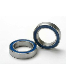 Traxxas 5120 Rodamientos de bolas, sellados con goma azul (12x18x4mm) (2)