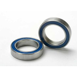 Traxxas 5120 Ball bearings, blue rubber sealed (12x18x4mm) (2)