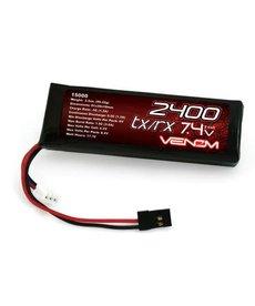Venom VNR15000 DRIVE 5C 2S 2400mAh 7.4V LiPo RX/TX Flat Pack