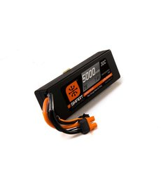 Spektrum 7.4V 5000mAh 2S 50C Smart LiPo Hardcase, IC3